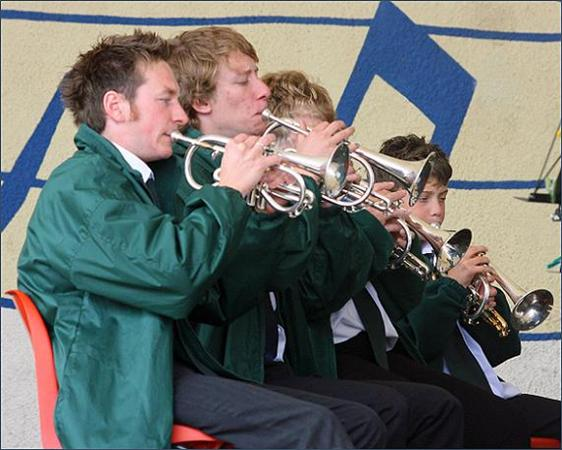 Back Row Cornets - Withernsea 2009
